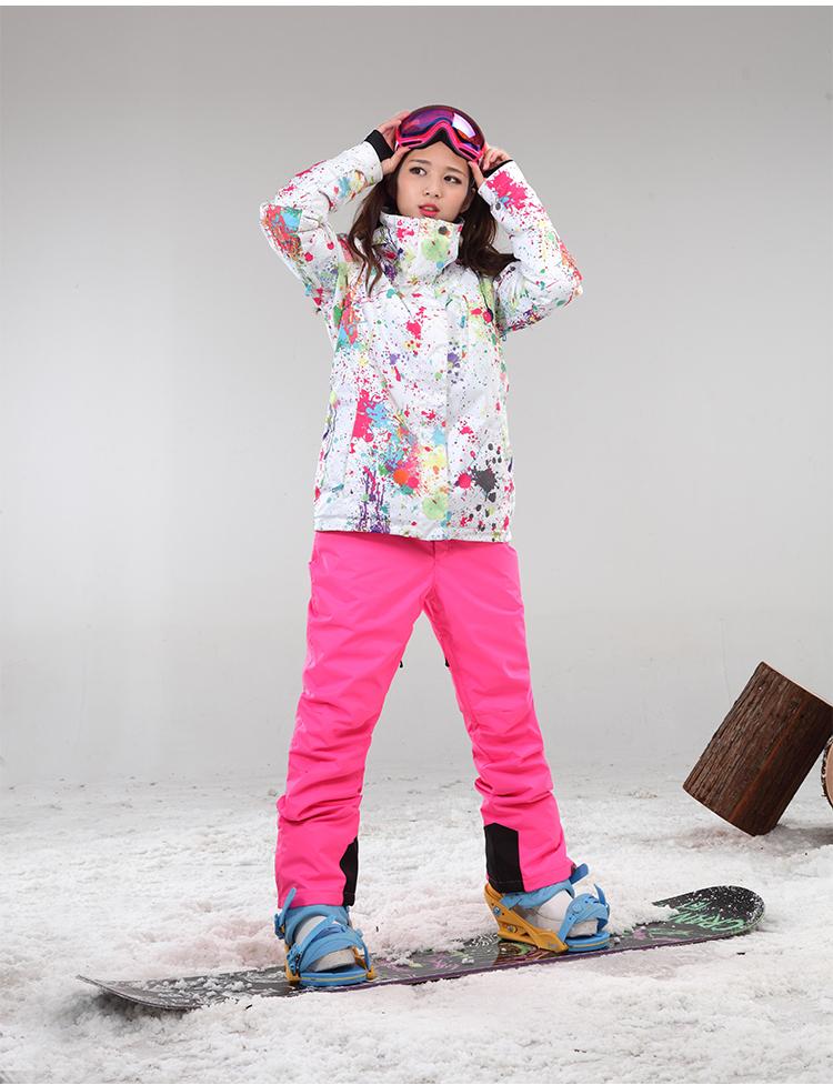 Сноубордический костюм женский доставка